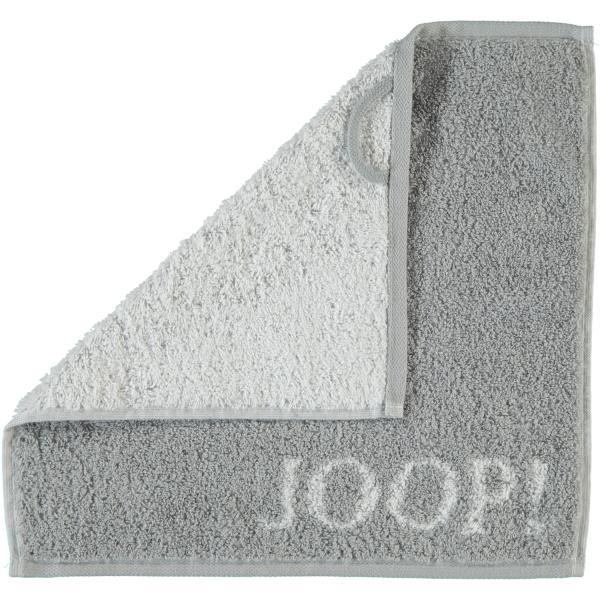 JOOP! Classic - Doubleface 1600 - Farbe: Silber - 76 Seiflappen 30x30 cm