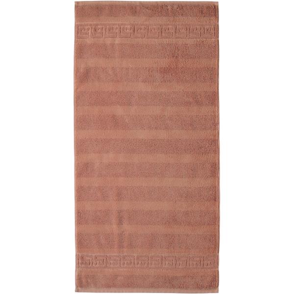 Cawö - Noblesse Uni 1001 - Farbe: 369 - zimt Duschtuch 80x160 cm