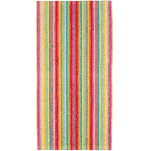 Cawö - Life Style Streifen 7008 - Farbe: 25 - multicolor Handtuch 50x100 cm