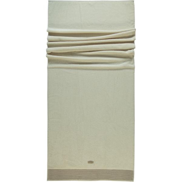 Möve - Wellness - Chenillebiesen - Farbe: natur - 071 (0-5537/8711) Saunatuch 80x200 cm