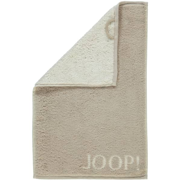 JOOP! Classic - Doubleface 1600 - Farbe: Sand - 30 Gästetuch 30x50 cm