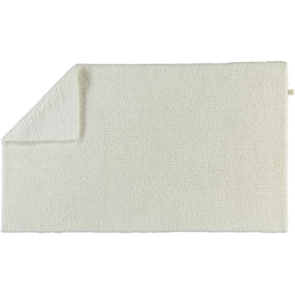 Rhomtuft - Badteppich Pur - Farbe: weiss - 01 50x75 cm