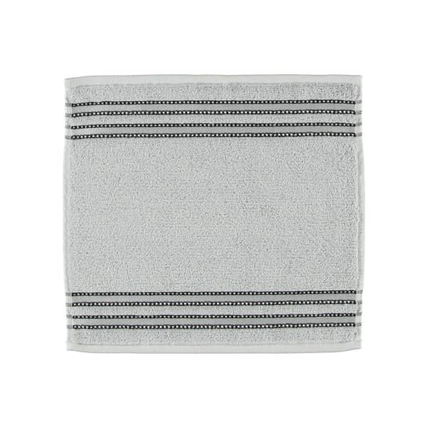 Vossen Cult de Luxe - Farbe: 721 - light grey Seiflappen 30x30 cm