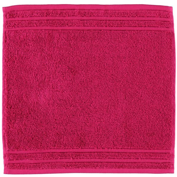 Vossen Calypso Feeling - Farbe: 377 - cranberry Seiflappen 30x30 cm