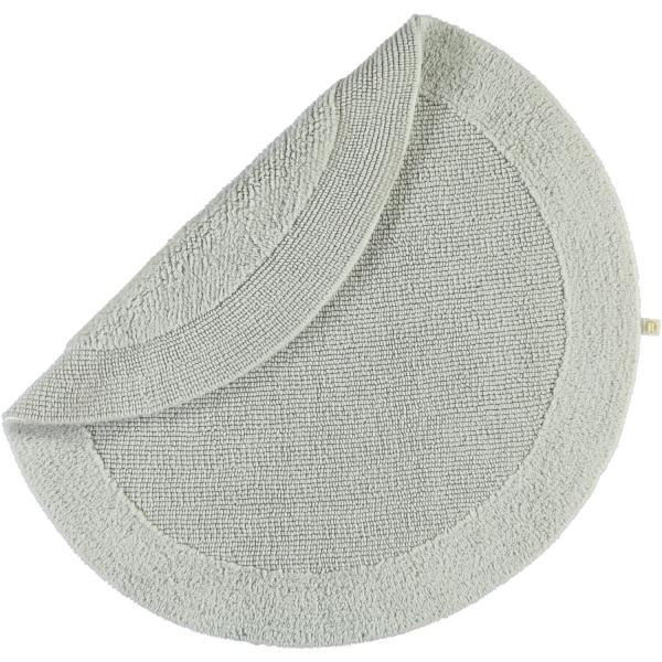 Rhomtuft - Badteppiche Exquisit - Farbe: perlgrau - 11 100 cm rund