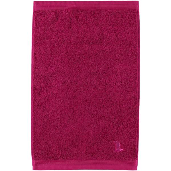 Möve - Superwuschel - Farbe: berry - 266 (0-1725/8775) Gästetuch 30x50 cm