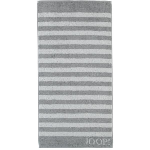 JOOP! Classic - Stripes 1610 - Farbe: Silber - 76 Handtuch 50x100 cm