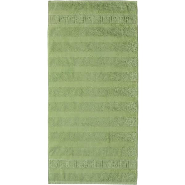 Cawö - Noblesse Uni 1001 - Farbe: reseda - 410 Handtuch 50x100 cm