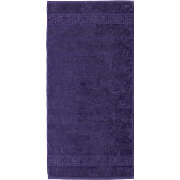 Cawö - Noblesse Uni 1001 - Farbe: lila - 808 Handtuch 50x100 cm