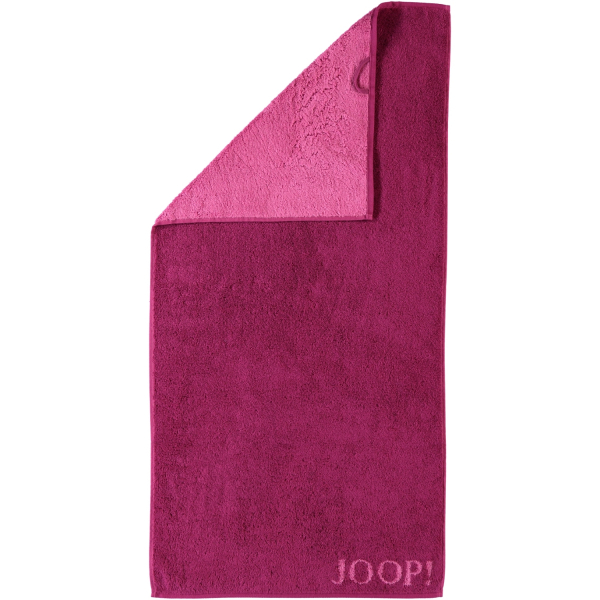 JOOP! Classic - Doubleface 1600 - Farbe: Cassis - 22 Handtuch 50x100 cm