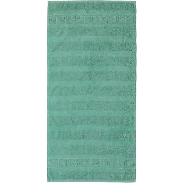 Cawö - Noblesse Uni 1001 - Farbe: 474 - agavegrün Duschtuch 80x160 cm