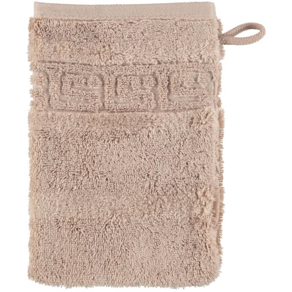 Cawö - Noblesse Uni 1001 - Farbe: 375 - sand Waschhandschuh 16x22 cm