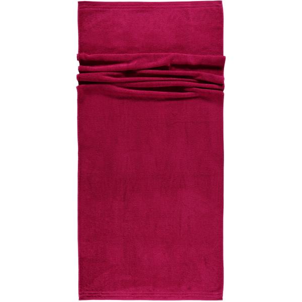 Vossen Calypso Feeling - Farbe: 377 - cranberry Saunatuch 80x200 cm