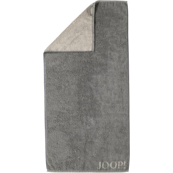 JOOP! Classic - Doubleface 1600 - Farbe: Graphit - 70 Handtuch 50x100 cm