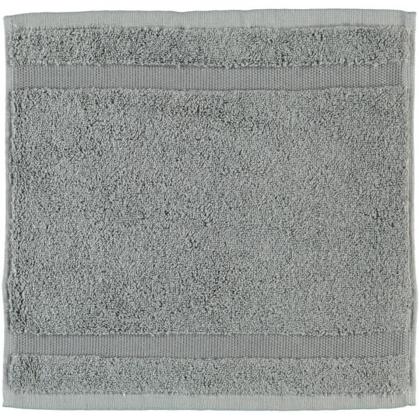 Rhomtuft - Handtücher Princess - Farbe: kiesel - 85 Seiflappen 30x30 cm