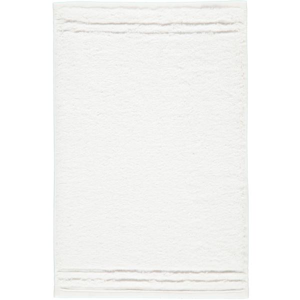 Vossen Vienna Style Supersoft - Farbe: weiß - 030 Gästetuch 30x50 cm
