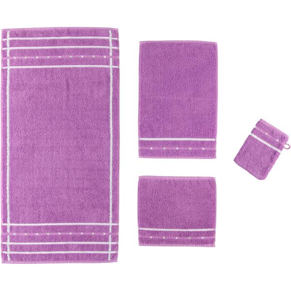 Vossen Quadrati - Farbe: violett/weiß - 028
