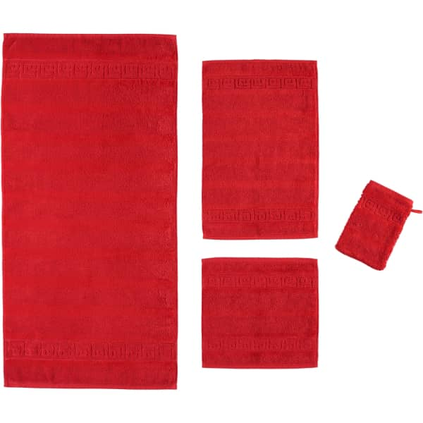 Cawö - Noblesse Uni 1001 - Farbe: 203 - rot