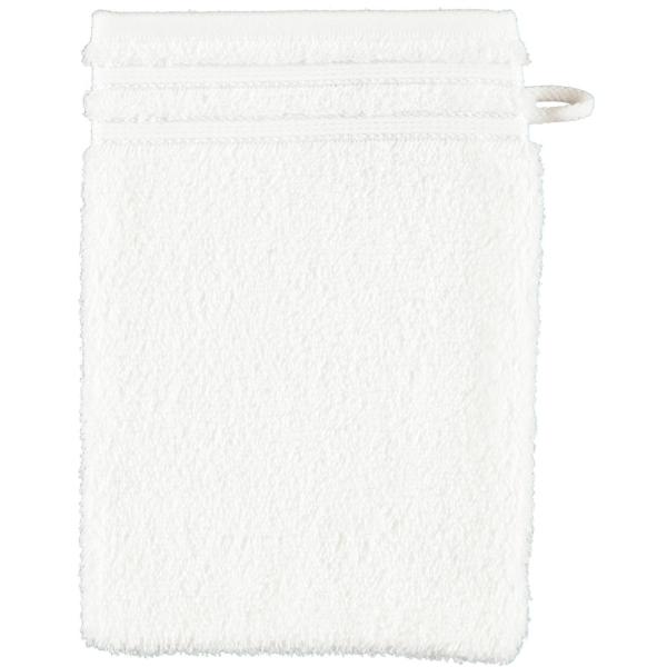Vossen Calypso Feeling - Farbe: weiß - 030 Waschhandschuh 16x22 cm