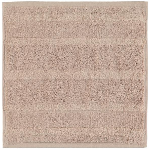 Cawö - Noblesse2 1002 - Farbe: 375 - sand Seiflappen 30x30 cm