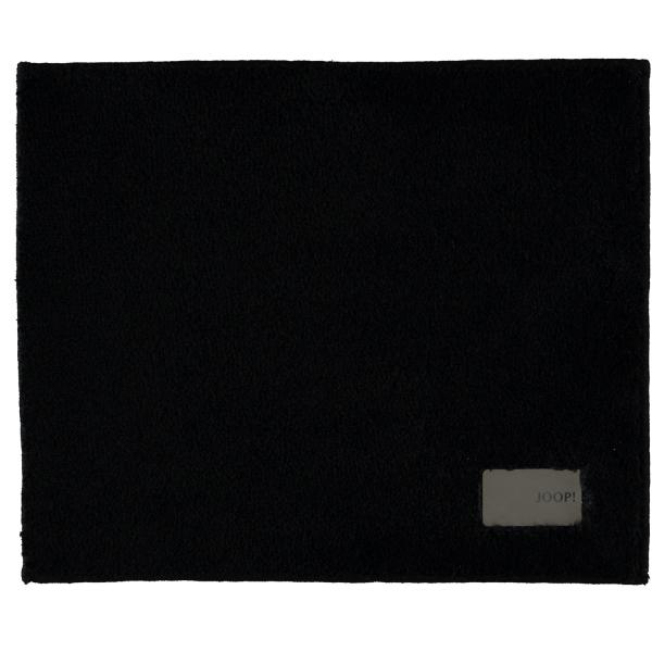 JOOP! - Badteppich Luxury 152 - Farbe: schwarz - 015 50x60 cm