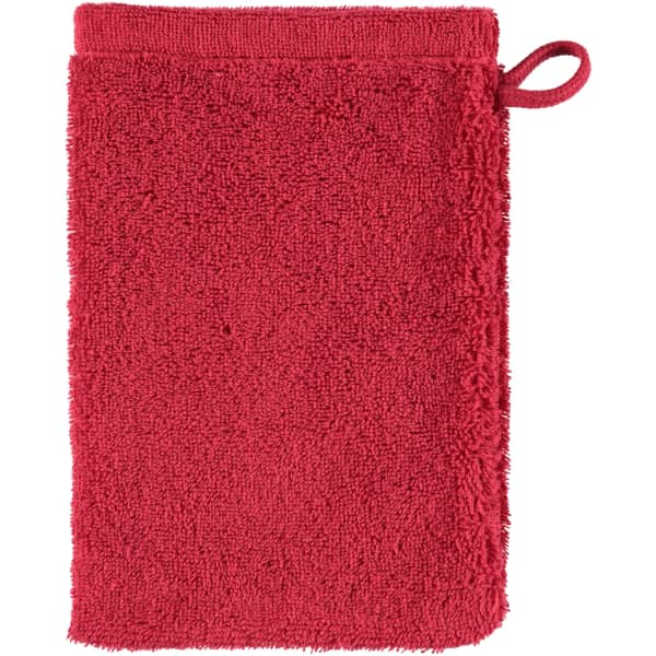 Cawö - Life Style Uni 7007 - Farbe: bordeaux - 280 Waschhandschuh 16x22 cm