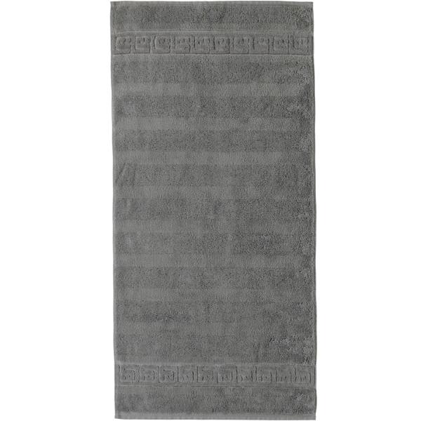 Cawö - Noblesse Uni 1001 - Farbe: 779 - graphit Handtuch 50x100 cm