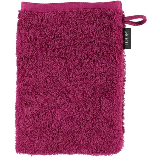JOOP! Classic - Doubleface 1600 - Farbe: Cassis - 22 Waschhandschuh 16x22 cm