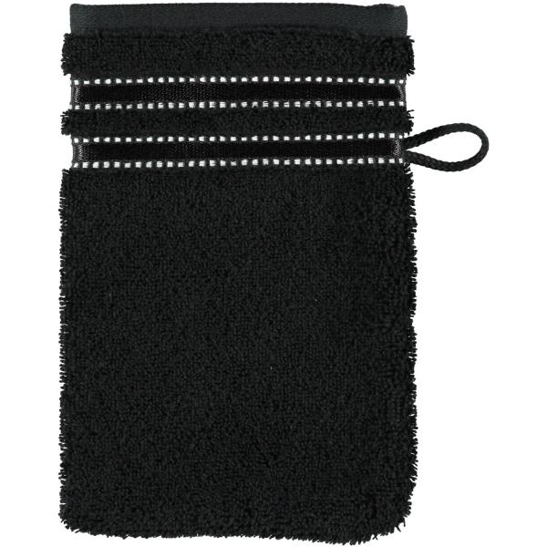 Vossen Cult de Luxe - Farbe: 790 - schwarz Waschhandschuh 16x22 cm