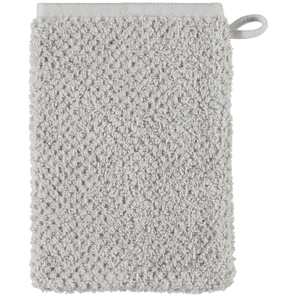 S.Oliver Uni 3500 - Farbe: silber - 775 Waschhandschuh 16x22 cm