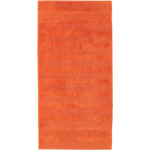 Cawö - Noblesse Uni 1001 - Farbe: 323 - terra Handtuch 50x100 cm