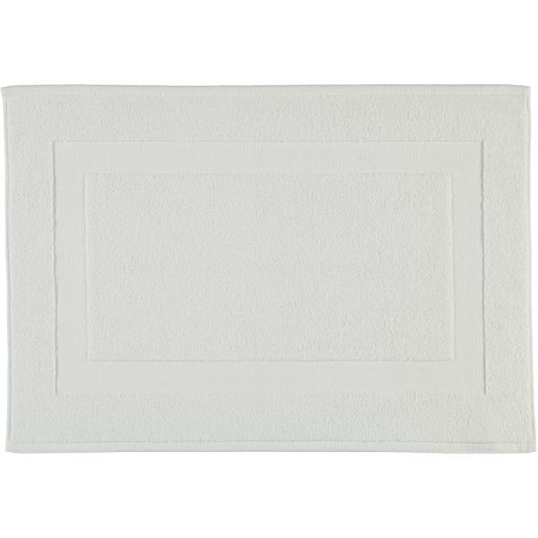 Rhomtuft - Badteppiche Comtesse - Farbe: weiss - 01 60x100 cm