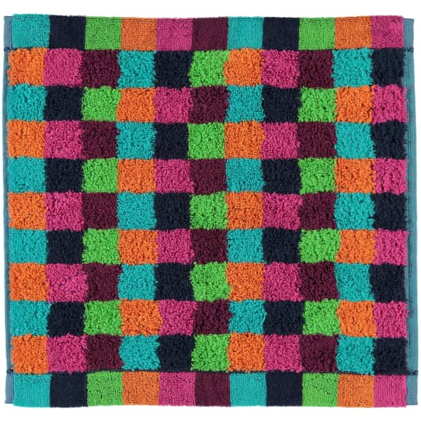 Cawö - Life Style Karo 7047 - Farbe: 84 - multicolor Seiflappen 30x30 cm