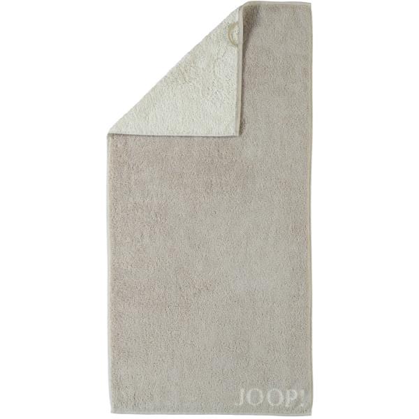JOOP! Classic - Doubleface 1600 - Farbe: Sand - 30 Duschtuch 80x150 cm