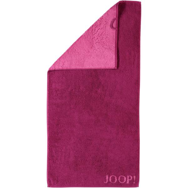 JOOP! Classic - Doubleface 1600 - Farbe: Cassis - 22 Duschtuch 80x150 cm
