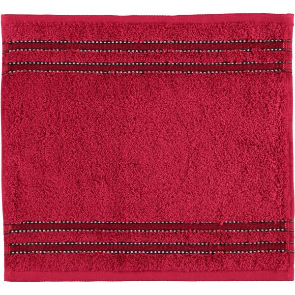 Vossen Cult de Luxe - Farbe: 390 - rubin Seiflappen 30x30 cm