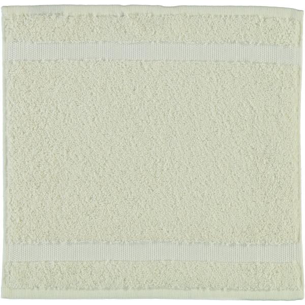 Rhomtuft - Handtücher Princess - Farbe: natur-jasmin - 20 Seiflappen 30x30 cm