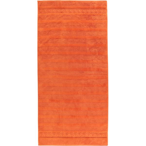 Cawö - Noblesse Uni 1001 - Farbe: 323 - terra Duschtuch 80x160 cm