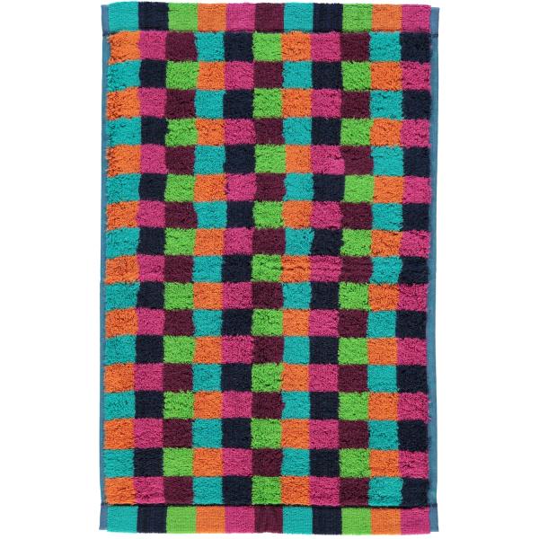 Cawö - Life Style Karo 7047 - Farbe: 84 - multicolor Gästetuch 30x50 cm