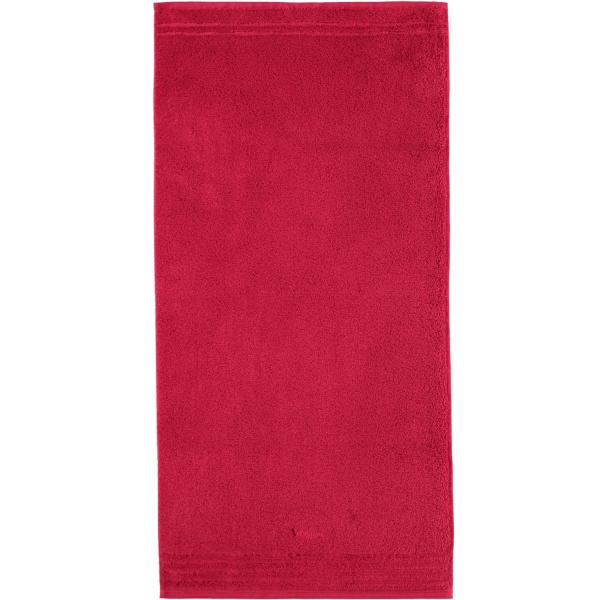 Vossen Vienna Style Supersoft - Farbe: rubin - 390 Handtuch 50x100 cm