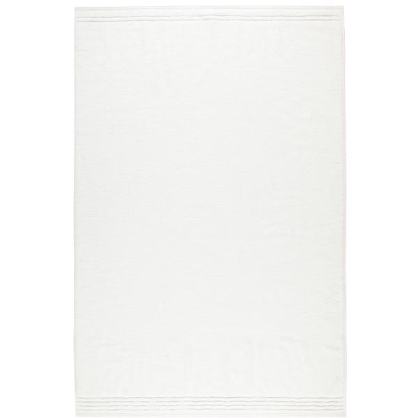 Vossen Vienna Style Supersoft - Farbe: weiß - 030 Badetuch 100x150 cm