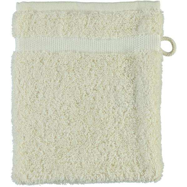 Rhomtuft - Handtücher Princess - Farbe: natur-jasmin - 20 Waschhandschuh 16x22 cm