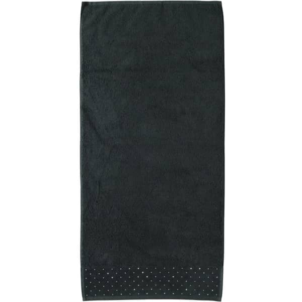 Möve - Swarovski Kristalle Allover - Farbe: black - 199 (0-5793/8688) Handtuch 50x100 cm