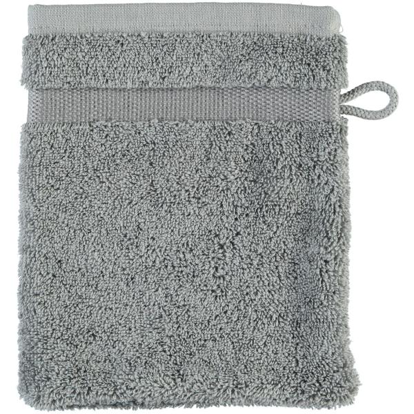 Rhomtuft - Handtücher Princess - Farbe: kiesel - 85 Waschhandschuh 16x22 cm