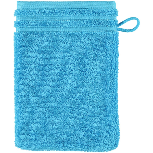 Vossen Calypso Feeling - Farbe: turquoise - 557 Waschhandschuh 16x22 cm