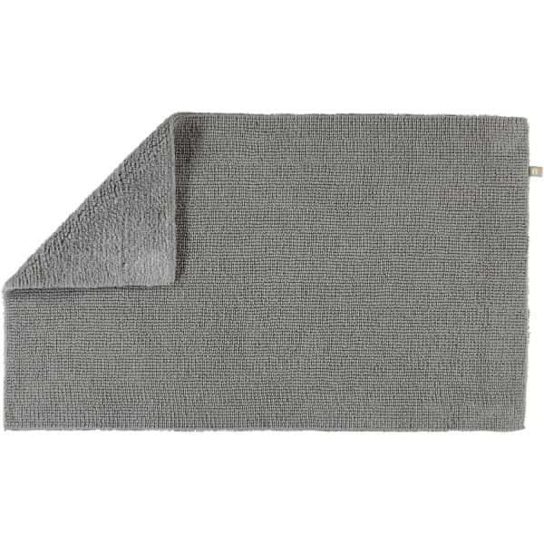 Rhomtuft - Badteppich Pur - Farbe: kiesel - 85 60x100 cm