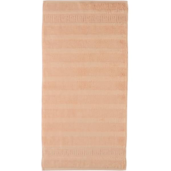 Cawö - Noblesse Uni 1001 - Farbe: 368 - lachs Handtuch 50x100 cm