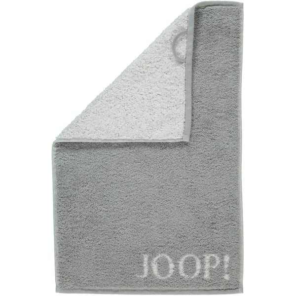 JOOP! Classic - Doubleface 1600 - Farbe: Silber - 76 Gästetuch 30x50 cm