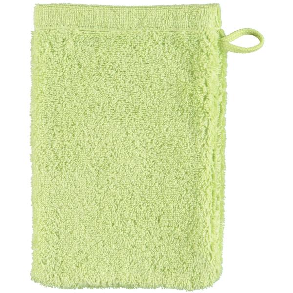 Cawö - Life Style Uni 7007 - Farbe: pistazie - 412 Waschhandschuh 16x22 cm