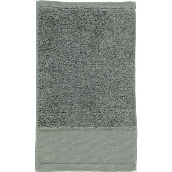 Rhomtuft - Handtücher Comtesse - Farbe: kiesel - 85 Gästetuch 30x50 cm